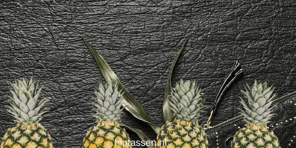 Dit leer wordt gemaakt van de vezels van ananasbladen