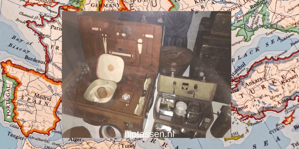 Handbagage, de voorloper van de handtas