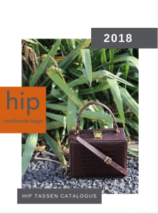 Catalogus Hip tassen juni 2018