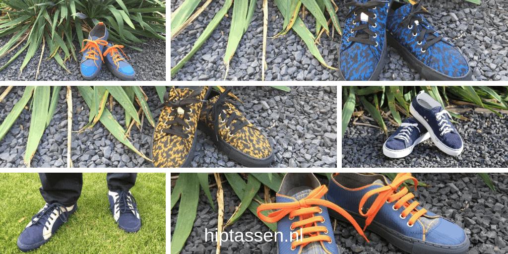 Sneakers voor dames en heren in verschillende materialen