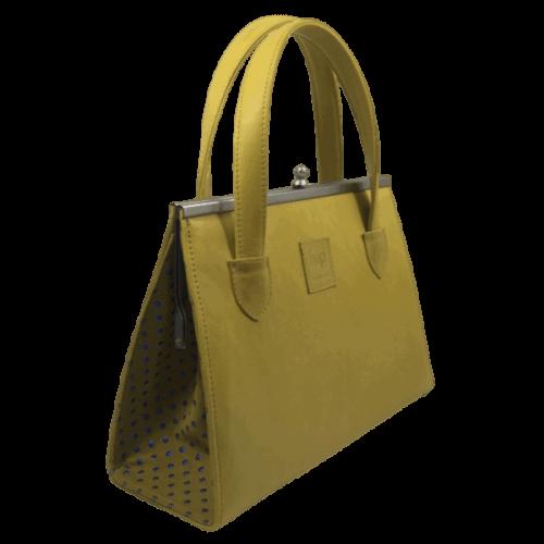 beugeltas geel voorkant hip tassen