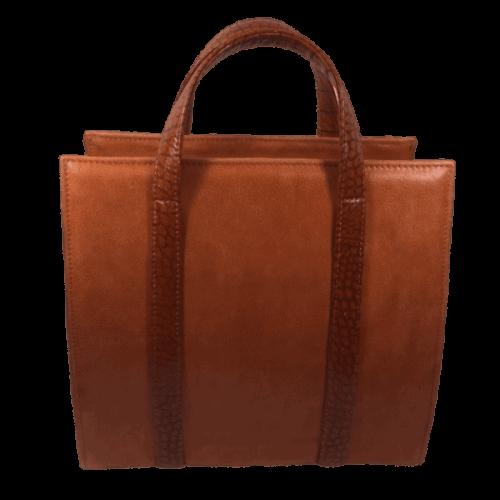 beugeltas oranje voorkant hip tassen