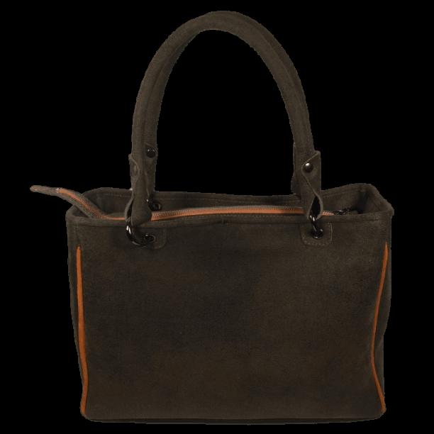 bruine-handtas-zalmleer-miami-achterkant-hiptassen-opmaatgemaakt