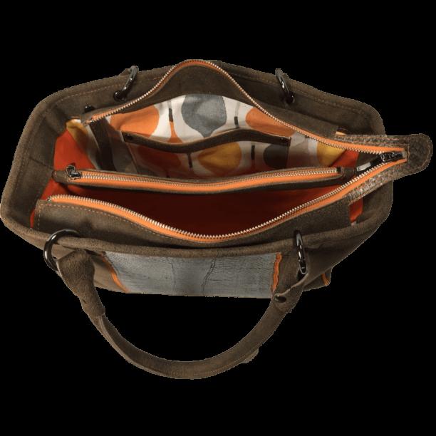 bruine-handtas-zalmleer-miami-binnenkant-opmaat-gemaakt-hiptassen