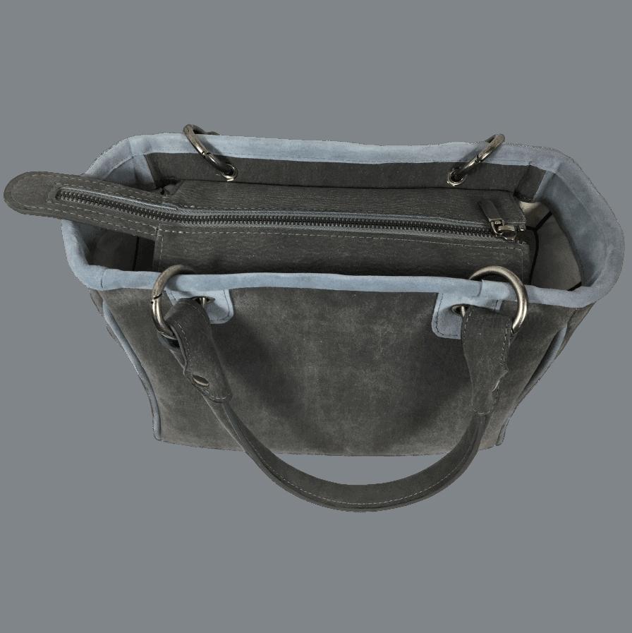 werktas-handtas-grijs-blauw-achterkant