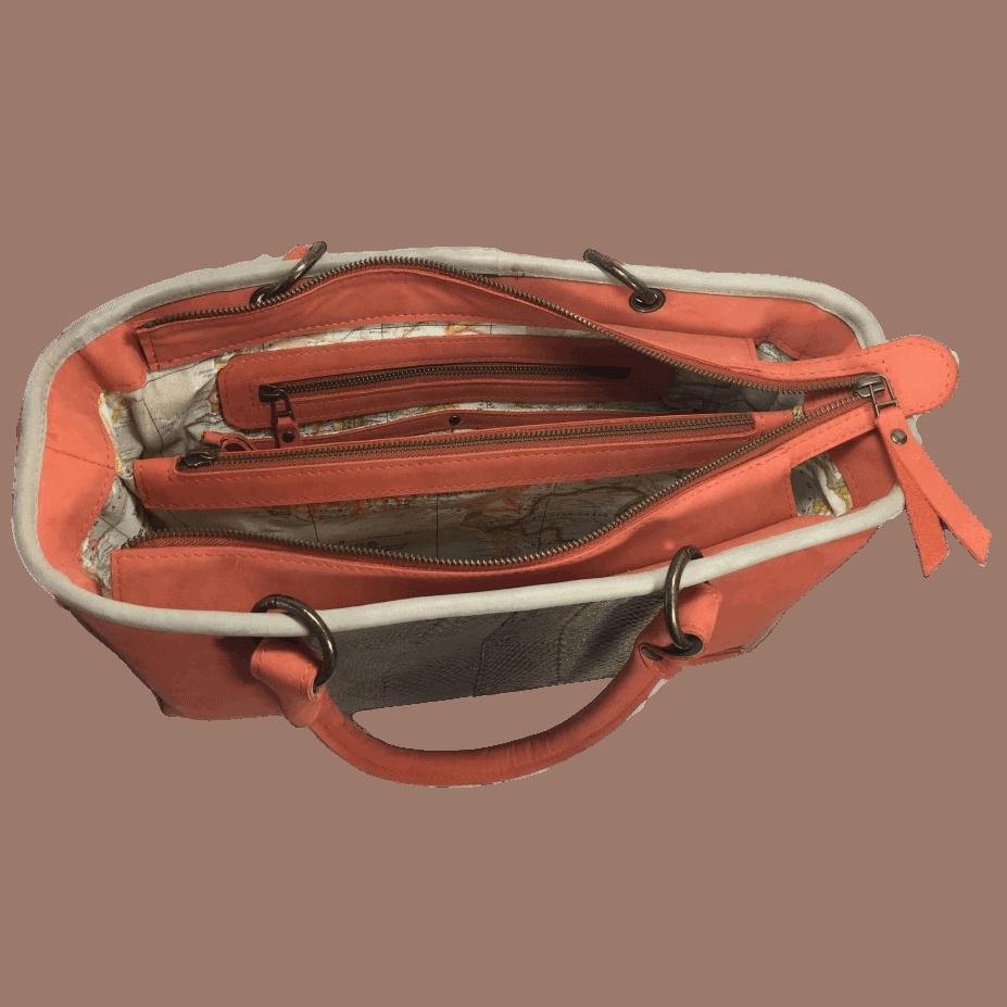 werktas-handtas-zalmleer-oranje-binnenkant