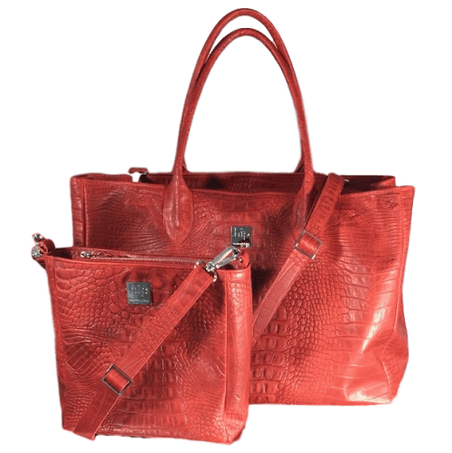 werktas-rood-bijpassende-handtas-voorkant