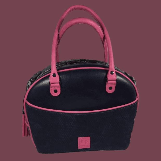 werktas-set-blauw-roze-voorkant-sporttas