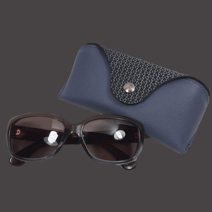 brillenkoker-dames-blauw-voorkant