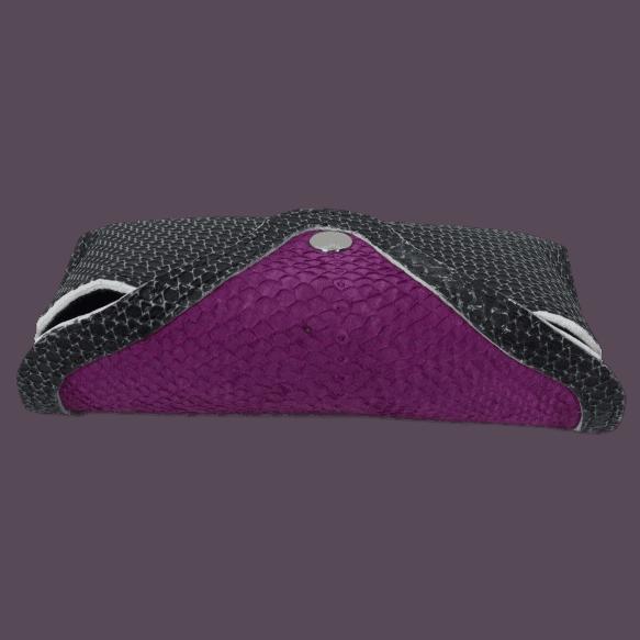 brillenkoker-zalmleer-paars-voorkant