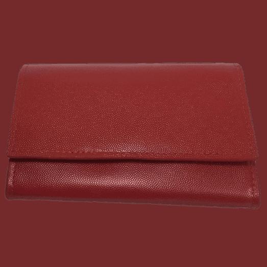 dames portemonnee rood voorkant