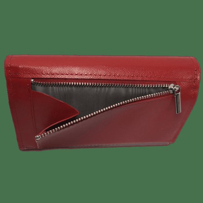 dames portemonnee rood achterkant