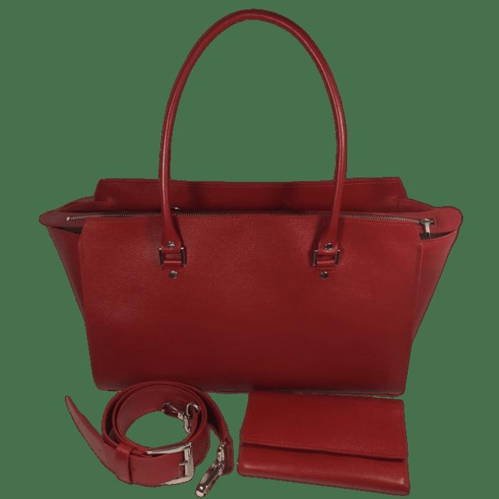 Dames tas met bijpassende portemonnee