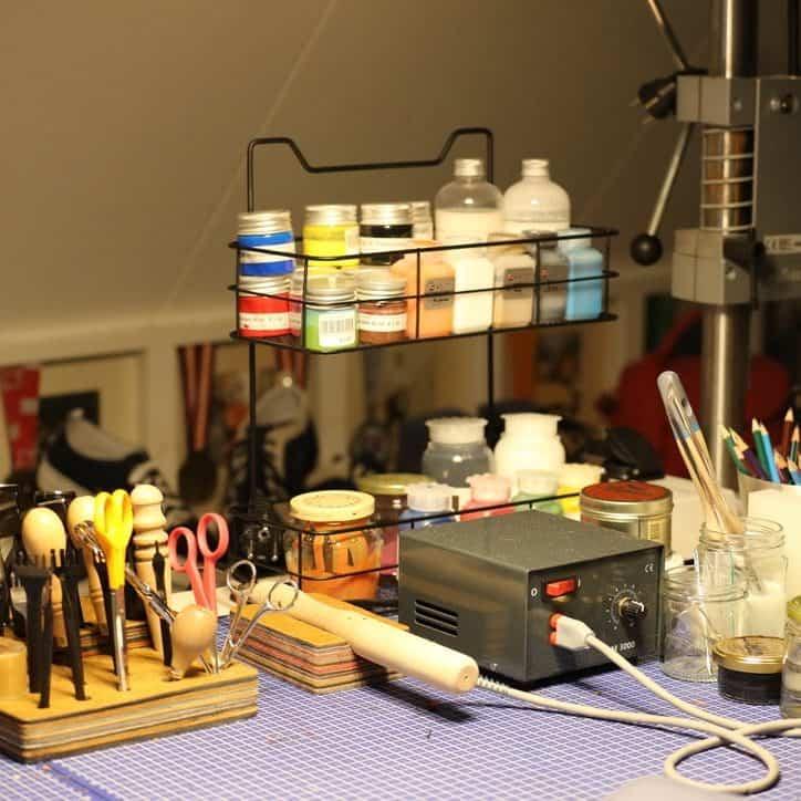 werktafel hip tassen atelier