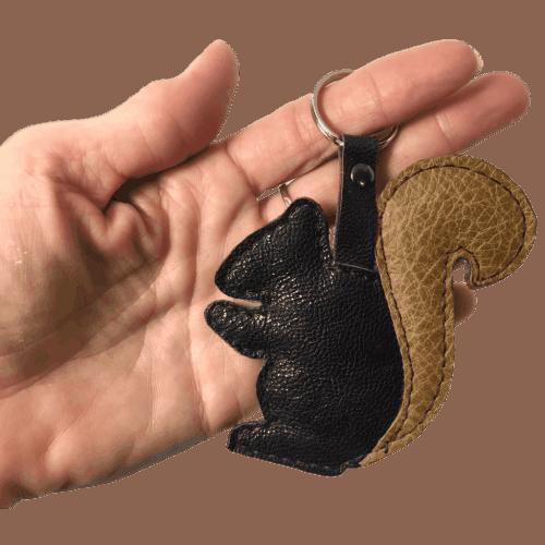 sleutelhanger eekhoorn