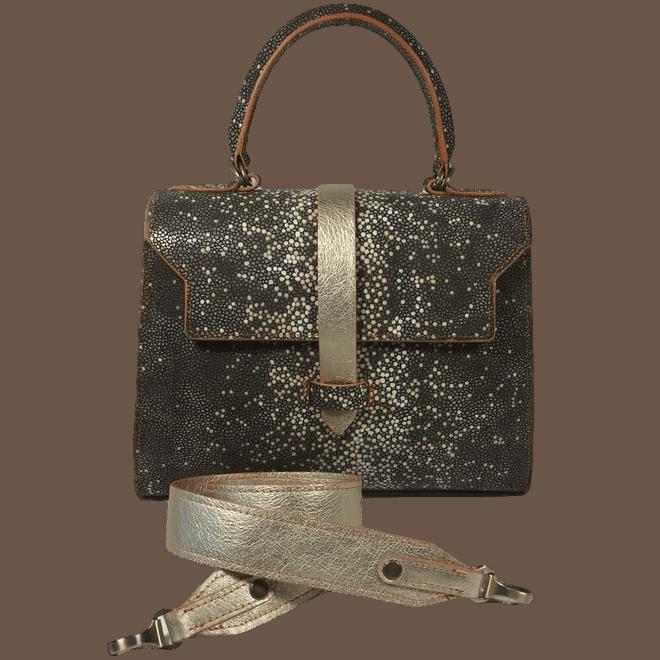 roggenprint-dames-handtas-goud-voorkant-schouderband-hiptassen-opmaatgemaakt