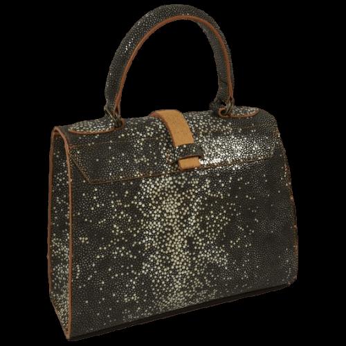 roggenprint-dames-handtas-oranje-achterkant