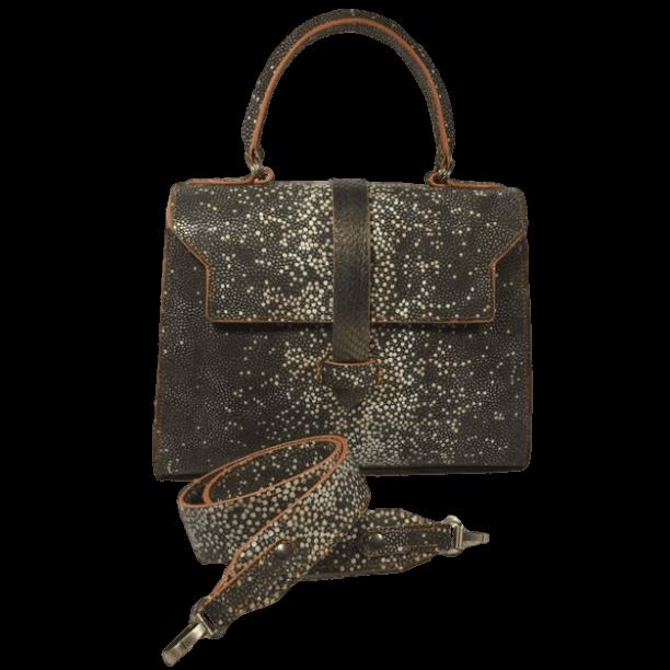 roggenprint-dames-handtas-visleer-voorkant-schouderband-hiptassen-handgemaakt
