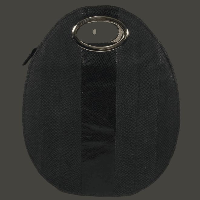 rugtas-zalmleer-zwart-voorkant-handgemaakt-hiptassen