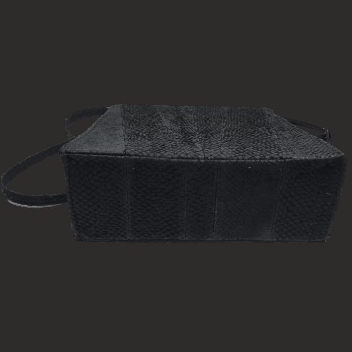 zalmleer-zwarte-handtas-onderkant-hiptassen-opmaatgemaakt