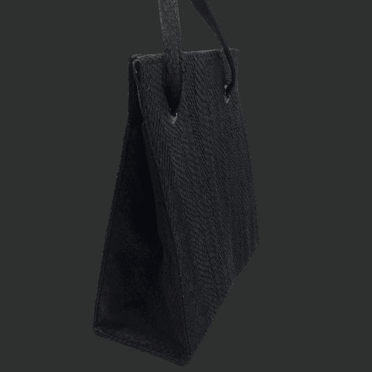 zalmleer-zwarte-handtas-zijkant