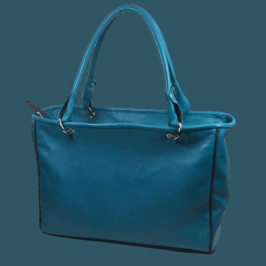 zalmleren-handtas-blauw-achterkant