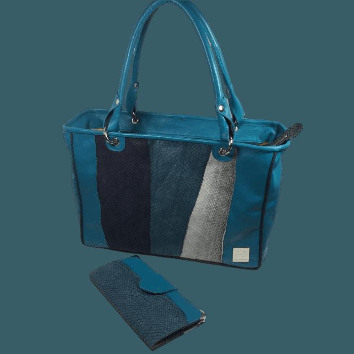zalmleren-handtas-blauw-voorkant