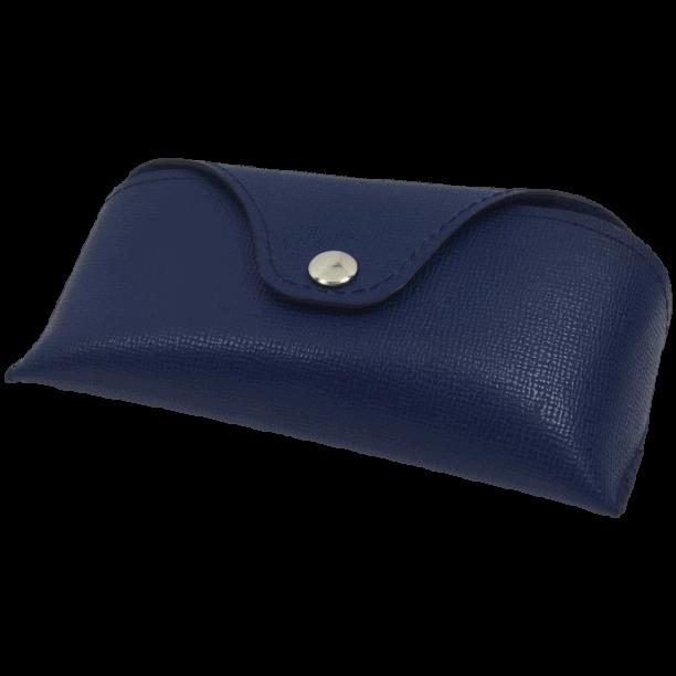 brillenkoker blauw voor RayBan brillen op maat gemaakt Hip tassen