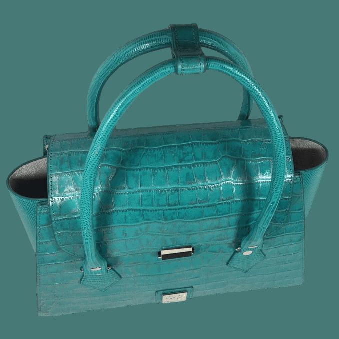 handtas-turquoise-crocoprint-leer-bovenkant-hiptassen-opmaat-gemaakt