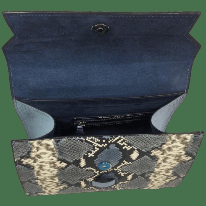 kleine-elegante-handtas-blauw-slangenprint-leer-open-osaka-hiptassen-opmaat-gemaaktkleine-elegante-handtas-blauw-slangenprint-leer-open-osaka-hiptassen-opmaat-gemaakt
