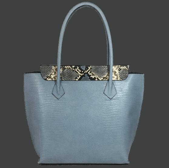 shopper-blauw-slangenprint-leer-achterkant-hiptassen-opmaat-gemaakt