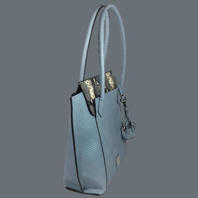 shopper-blauw-slangenprint-leer-zijkant-hiptassen-opmaat-gemaakt
