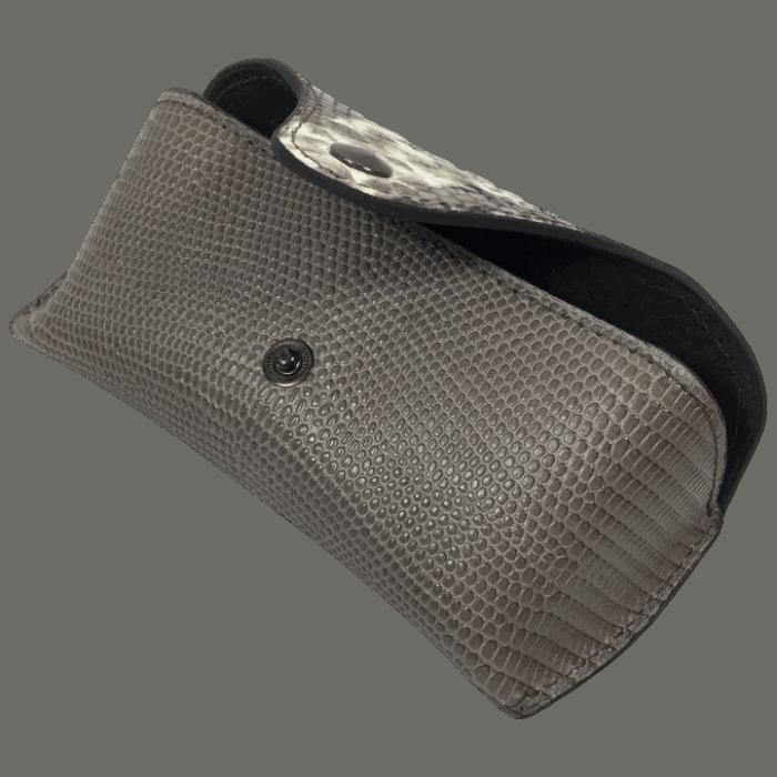 brillenkoker-lizardprint-taupe-open-handgemaakt-opmaat-hiptassen